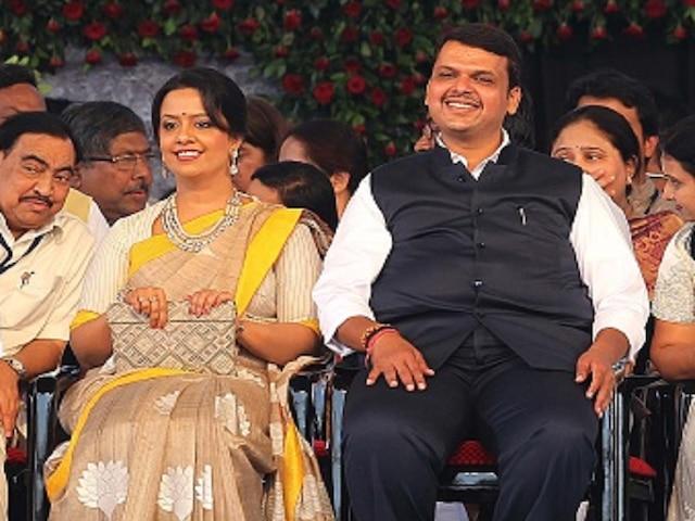 Maharashtra CM Devendra Fadnavis's Wife Amruta Calls PM Modi 'Father Of Our Country', Sets Twitter Abuzz