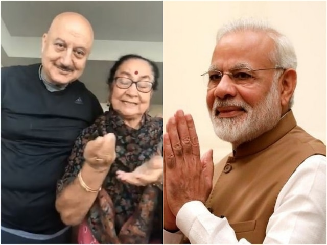 Prime Minister Narendra Modi 'Touched' By Anupam Kher's Mother Dulari's Wish On His 69th Birthday!
