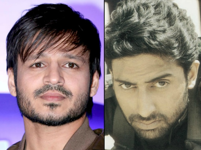 Vivek Oberoi wishes luck to Abhishek Bachchan for 'The Big Bull'