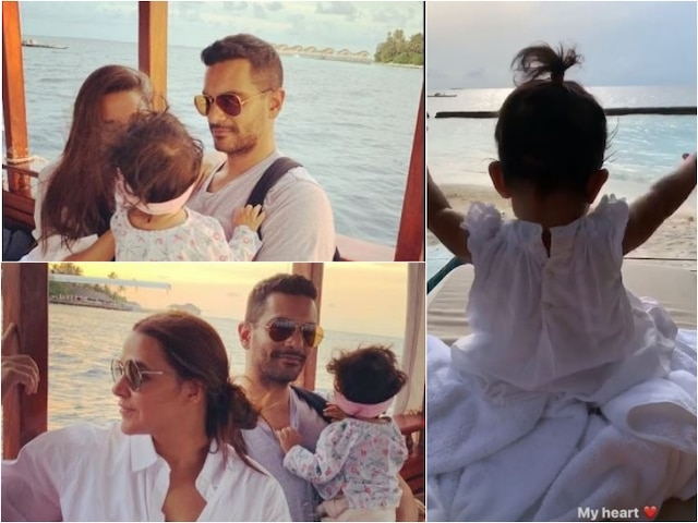 Neha Dhupia-Angad Bedi Share Adorable Pics Of Their BABY GIRL Mehr Dhupia Bedi As She Turns 10-Month-Old!