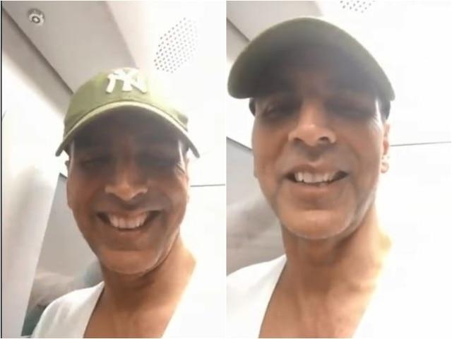 Akshay Kumar Beats Mumbai Traffic By Taking A Metro Ride From Ghatkopar To Versova; INSIDE VIDEO