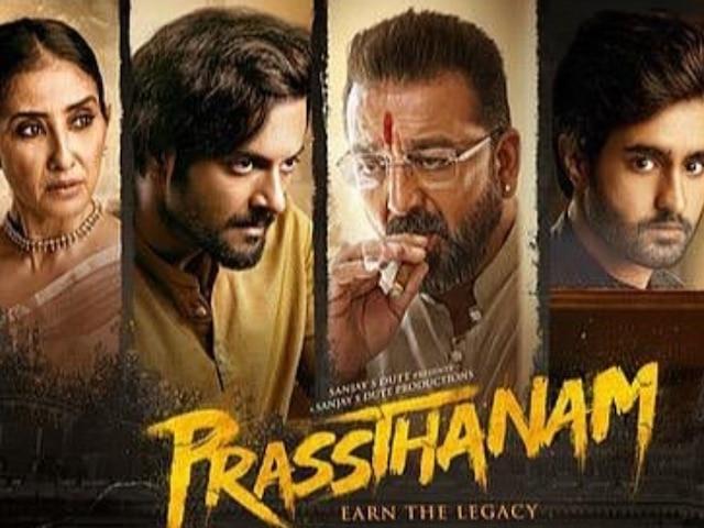Sanjay Dutt 'Prassthanam' Film Review: Maximum chaos, mediocre impact