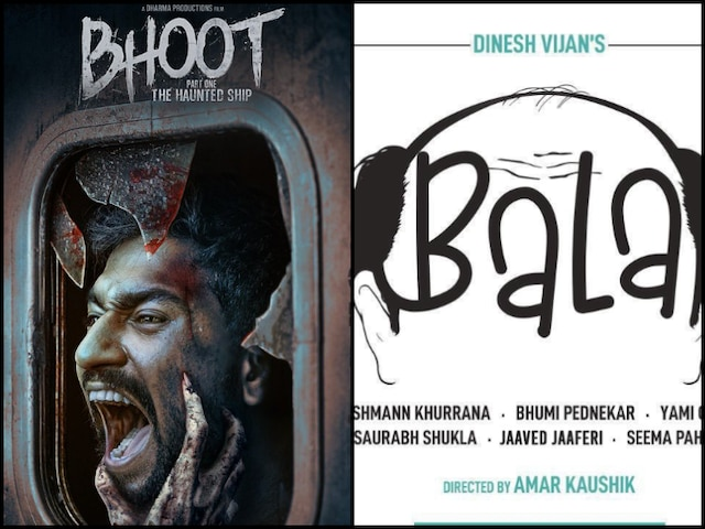 Ayushmann Khurrana 'Bala' & Vicky Kaushal 'Bhoot Part One: The Haunted Ship' Get New Release Date