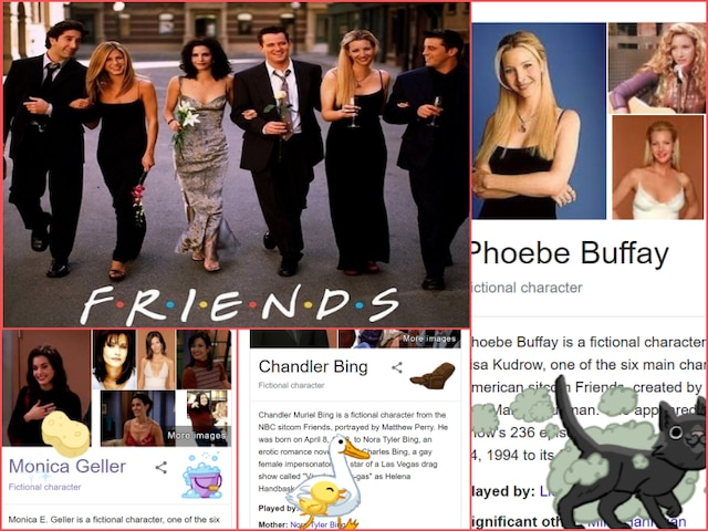 Friends 25th Anniversary: Leave Everything And Search 'Friends' Characters On Google For A SURPRISE!
