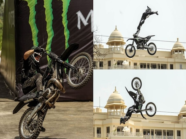 Monster Energy Recreates James Bond Movie Scene In India With X Games Gold Medalist Jackson Strong; See Stunning Pictures