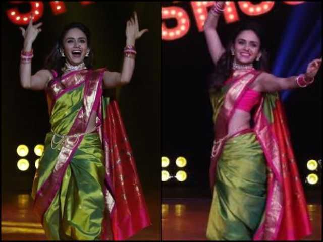 'Khatron Ke Khiladi 10' Contestant Amruta Khanvilkar Performs Laavni Dance On 'The Khatra Show'
