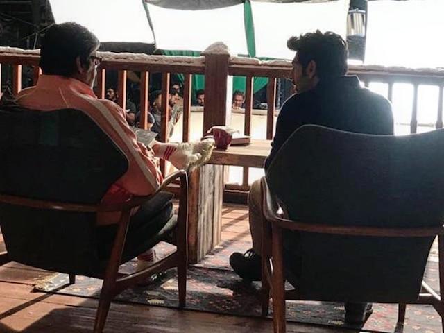 PIC: Kartik Aaryan Ticks 'Working With Amitabh Bachchan' Off His Bucket List