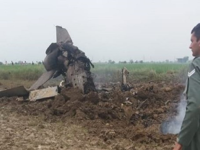 Madhya Pradesh: MiG 21 Trainer Aircraft Of Indian Air Force Crashes In Gwalior, Pilots Eject Safely