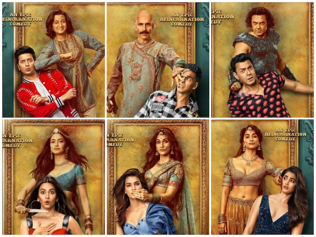 Akshay Kumar Shares 'Housefull 4' Character Posters Ahead Of Trailer Release