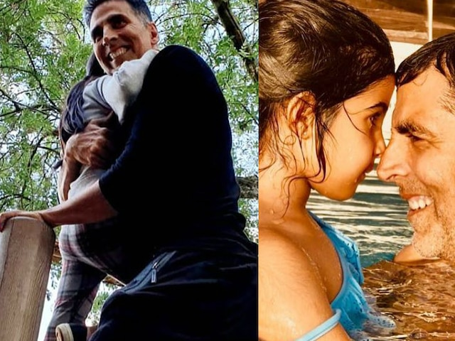 Akshay Kumar wishes daughter Nitara on her 7th Birthday with an adorable picture, saying-