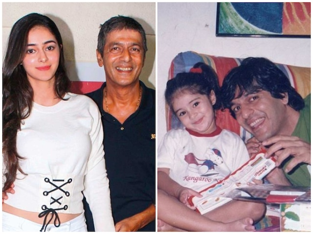 Ananya Panday Pens Sweet Birthday Wish For 'Papa' Chunky Pandey! See Throwback Pictures!