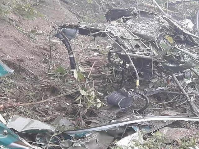 Indian Army Cheetah Helicopter Crash Bhutan; Pilots Dead