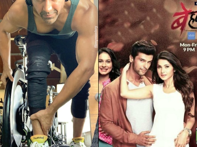 Beyhadh 2: Ashish Chowdhry begins the prep in gym for his role of the father to Shivin Narang in season 2 of Jennifer Winget's show