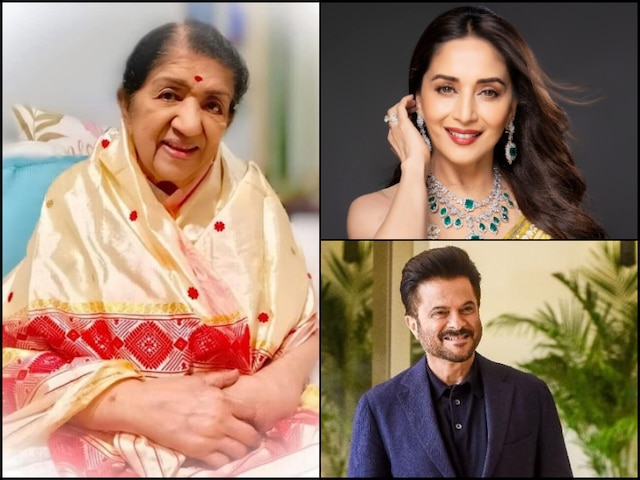 Lata Mangeshkar 90th Birthday: Madhuri Dixit, Anil Kapoor & other Bollywood Celebs Wish Her
