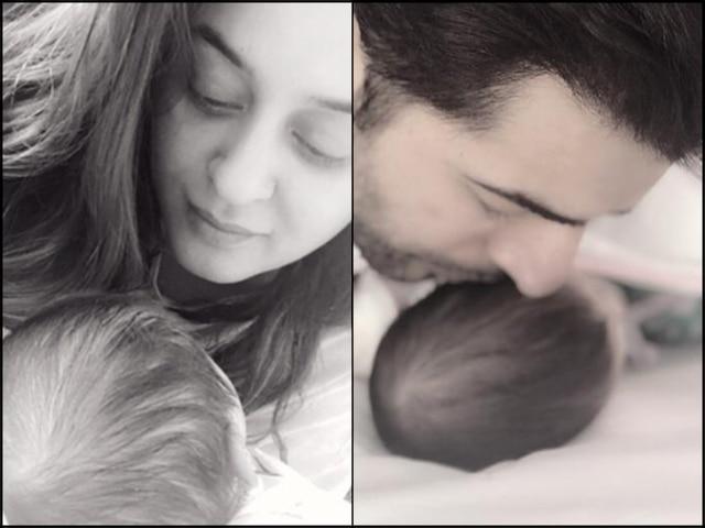 Jay Bhanushali Mahhi Vij Share PIC With NEWBORN Daughter Tara Bhanushali