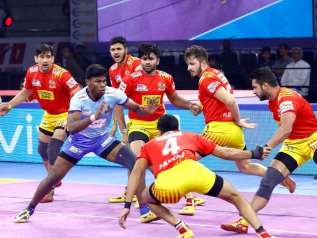 Pro Kabaddi League 2019: Gujarat Fortunegiants Thrash Tamil Thalaivas 50-21