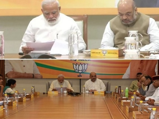 After PM Modi's Call, Glass Jars Replace Plastic Water Bottles At BJP Headquarters
