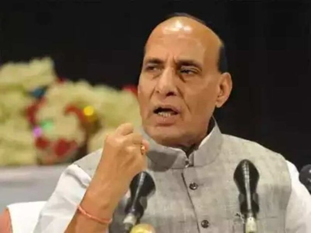 Rajnath Singh To Receive First Rafale Fighter Jet On Tuesday In France; To Perform Shastra Puja In Paris