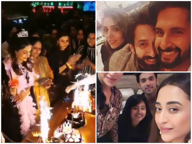 Hina Khan Rings In Her 32nd Birthday With 'Kasautii Zindagii Kay', 'Yeh Rishta Kya Kehlata Hai' Co-Stars And Friends! See Pictures & Videos!
