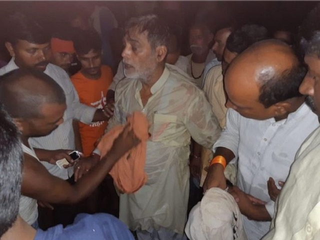 Bihar: BJP MP Ram Kripal Yadav Falls Into Flood-Water As Boat Capsizes, Rescued By Locals