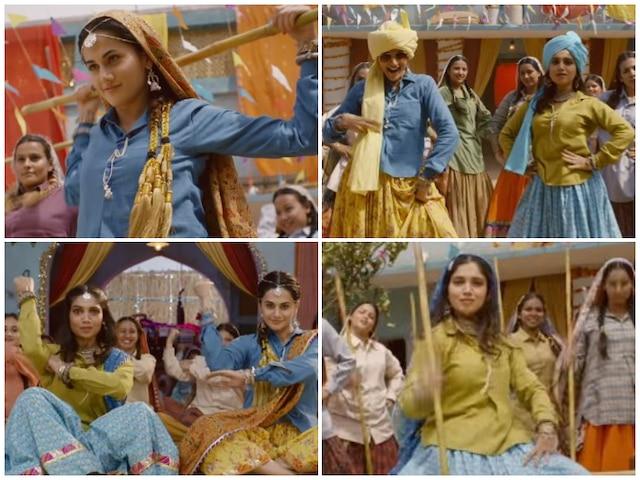 'Saand Ki Aankh' New Song: Taapsee Pannu, Bhumi Pednekar Shake A Leg To Celebrate 'Womaniya'! Watch Video!