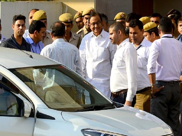 P Chidambaram Judicial Custody In CBI INX Media Case Extended Till October 17