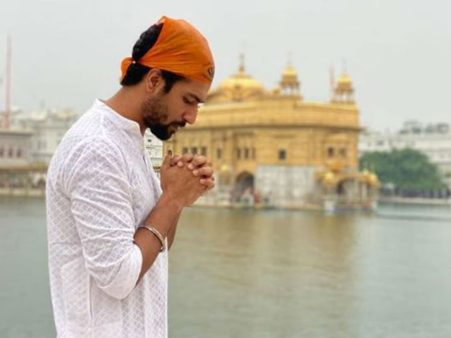 Vicky Kaushal Visits Golden Temple For 'Sardar Udham Singh'