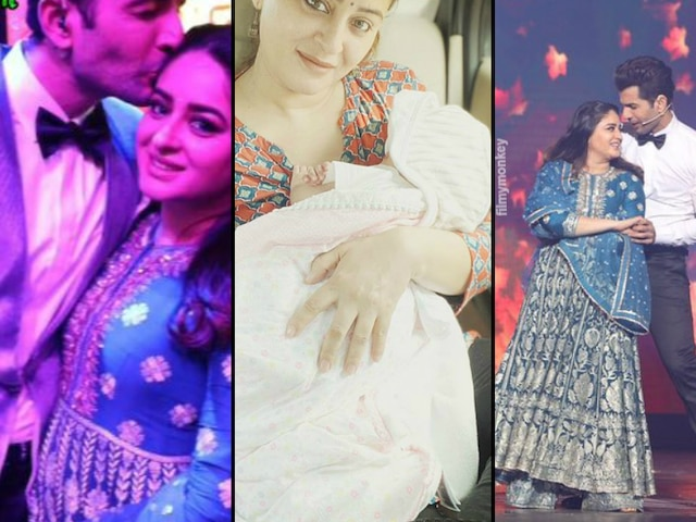 Superstar Singer Finale: Mahhi Vij makes first public appearance post birth of their daughter on hubby & host Jay Bhanushali's show