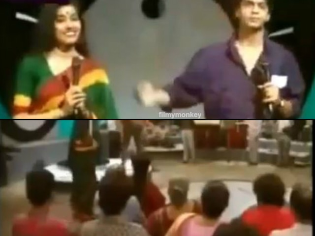 SRK's thowback video as Doordarshan anchor resurfaces on social media, Fans love it!