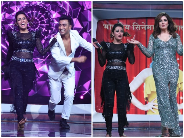 Nach Baliye 9: Anita Hassanandani Dedicates Her Act To Judge Raveena Tandon As She Completes 28 Years In Bollywood! See Pictures!