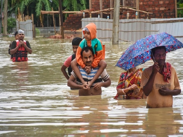 Patna Floods: BJP-JDU Alliance Lock Horns Over Handling Of Floods In Bihar