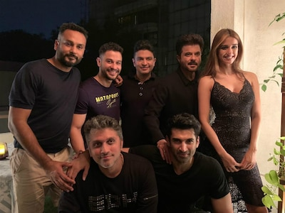 Disha Patani Parties With The Aditya Roy Kapur Anil Kapoor Malang Team Post Wrap Up