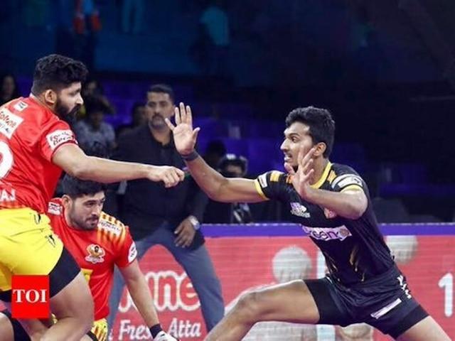 Pro Kabaddi League 2019: Gujarat Fortunegiants Beat Telugu Titans 48-38