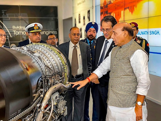 Safran Aircraft Engines Olivier Andries Rafale Engine Manufacturer With Defence Minister Rajnath Singh
