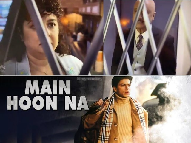 Anupam Kher uses SRK's 'Main Hoon Na' line in his American show 'New Amsterdam'.. WATCH VIDEO!