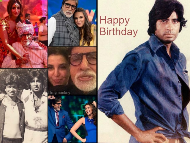 Happy Birthday Amitabh Bachchan: Daughter Shweta Bachchan & B-town pour out heartfelt wishes for the megastar as he turns 77