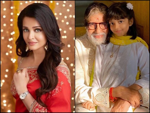 Amitabh Bachchan Birthday: Aishwarya Rai, Aaradhya Bachchan, Abhishek & Shweta Wish Big B