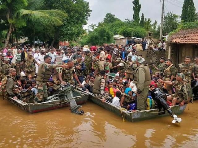 Karnataka Floods: State Govt Gives Additional Aid Of Rs 10K To Affected People