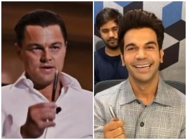 Here's How 'Made In China' Actor Rajkummar Rao Sells A Pen To Leonardo DiCaprio! Watch Video!