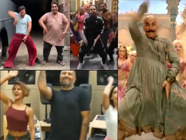 Housefull 4: Bollywood stars at their funniest for #BalaChallenge dancing to 'Shaitan Ka Saala' signature step from Akshay Kumar starrer