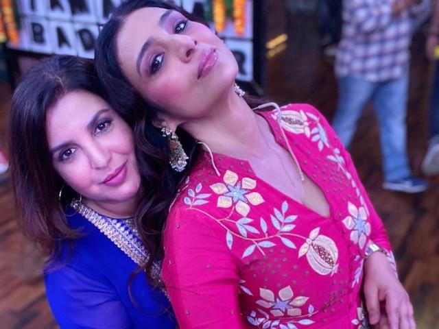 PIC: Tabu & Farah Khan Celebrate '30 Years Of Dosti'