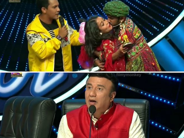 Indian Idol 11: Contestant forcibly kisses Neha Kakkar, hugs her tight on stage leaving her uncomfortable! WATCH VIDEO!