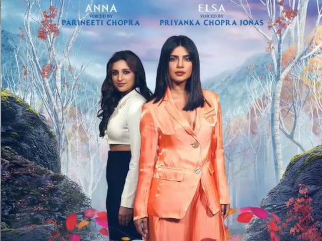 Frozen 2 HINDI: Priyanka Chopra, Parineeti enter the 'Frozen' world, To dub for the Hindi version as 'Elsa' and 'Anna' respectively