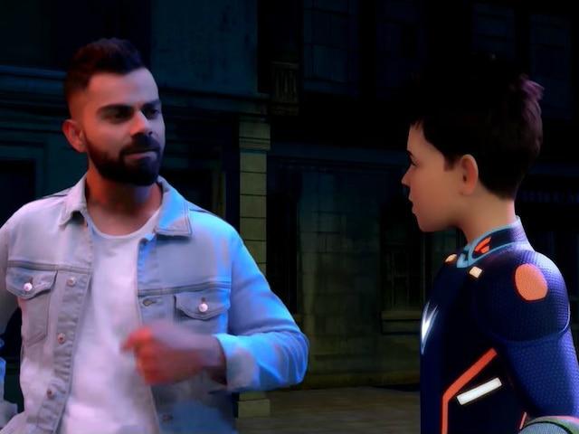 Virat Kohli S Superhero Avatar Super V On Tv Soon Star