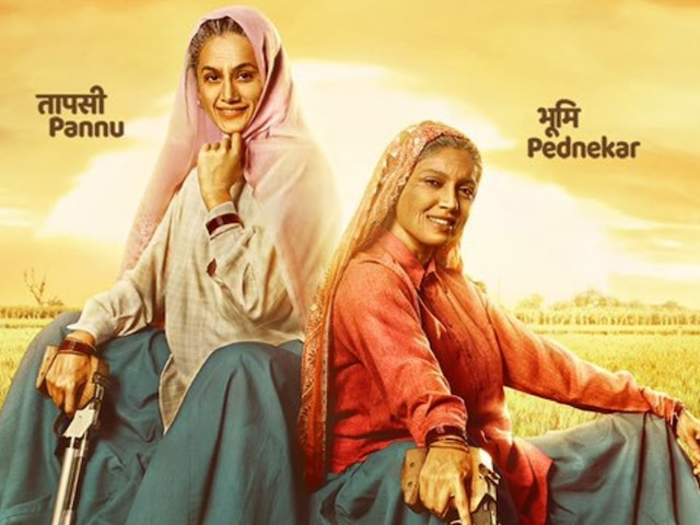 'Saand Ki Aankh' exempted from SGST in Delhi, Chief Minister Arvind Kejriwal announces praising Bhumi Pednekar-Taapsee Pannu Starrer