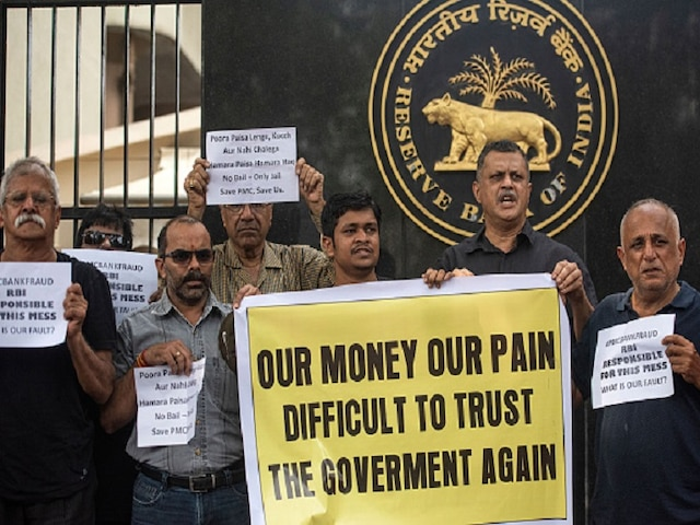 PMC Bank Scam: Protestors Meet RBI Officials; Central Bank To Take Final Call On Oct 30