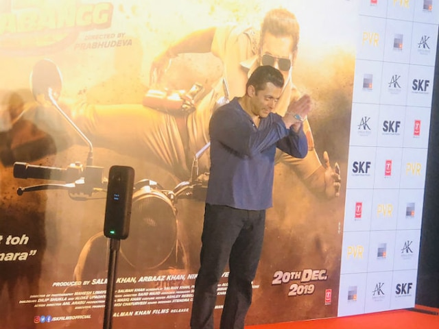 'Dabangg 3' Is For Critics: Salman's Jibe At Trailer Launch