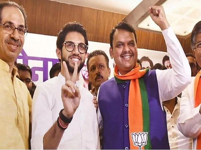 Maharashtra Elections 2019: BJP, Shiv-Sena Cross Majority Mark; Look Set To Form Govt Again