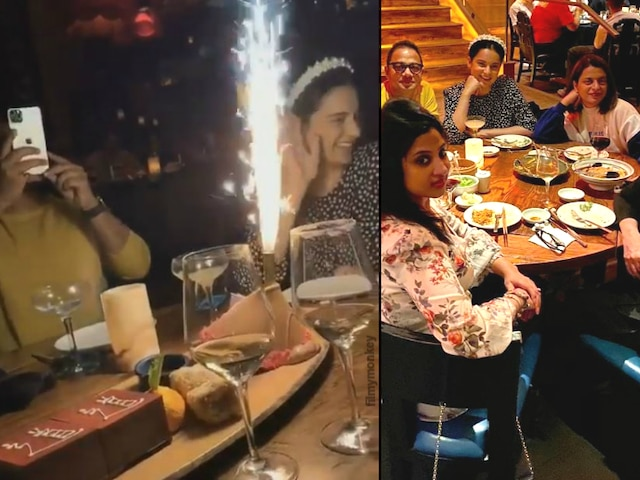 Diwali 2019: Kangana Ranaut celebrates with 'Thalaivi' team in L.A.