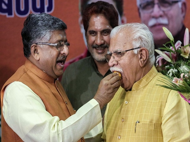 Manohar Lal Khattar To Be Haryana CM Again, May Take Oath For A Second Term On Sunday